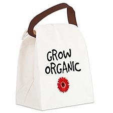 Grow Organic Canvas Lunch Bag