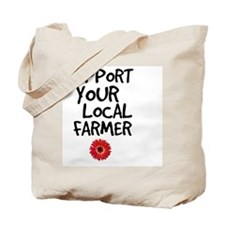 Support Local Farmer Tote Bag