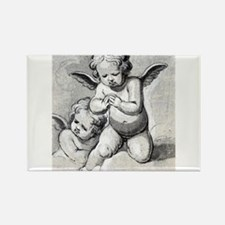 Anonymous - Study of Angels - 17th Century - Drawi