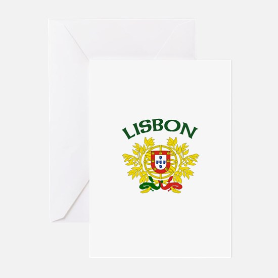 Lisbon, Portugal Greeting Cards (Pk of 10)