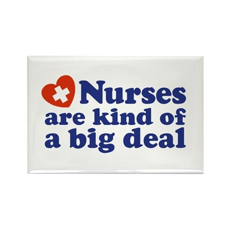 Cute Nurse Rectangle Magnet