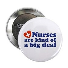Cute Nurse Button