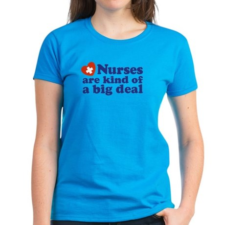 Cute Nurse Women's Dark T-Shirt