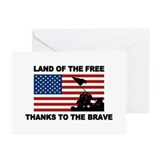Patriotic Greeting Cards (10 Pack)