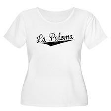 La Paloma, Retro, Plus Size T-Shirt