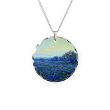 Onderdonk - Field of Bluebon Necklace