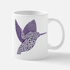 celtic knot kingfisher purple Mugs