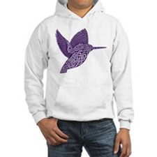 celtic knot kingfisher purple Jumper Hoody