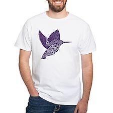 celtic knot kingfisher purple T-Shirt