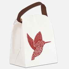 celtic king fisher red Canvas Lunch Bag