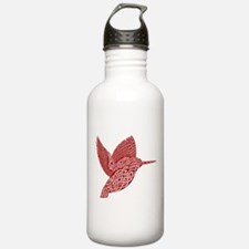 celtic king fisher red Sports Water Bottle