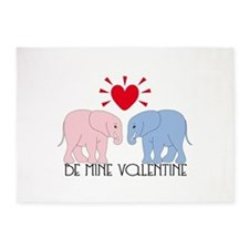Be Mine Valentine 5'x7'Area Rug
