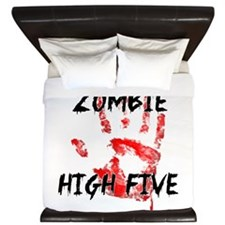 Zombie High Five King Duvet