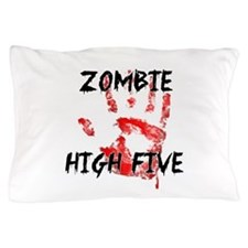 Zombie High Five Pillow Case
