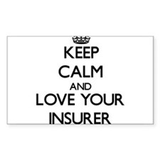 Keep Calm and Love your Insurer Decal