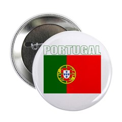 Portugal Flag (Dark) Button