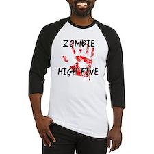 Zombie High Five Baseball Jersey