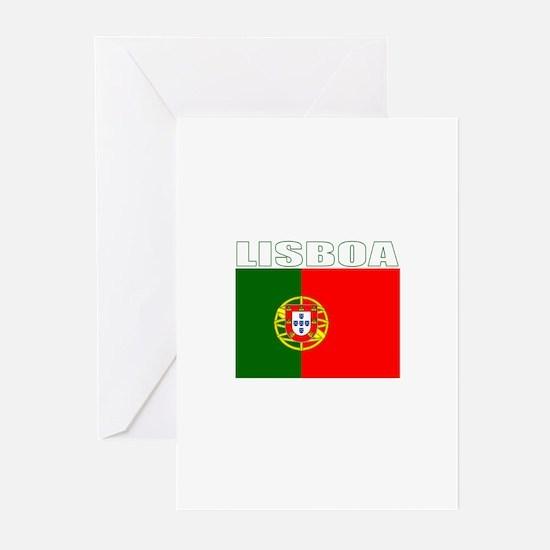 Lisboa, Portugal Greeting Cards (Pk of 10)