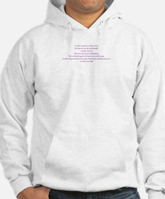 A mother never fails. Hoodie