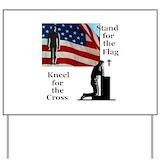 Flag Yard Signs