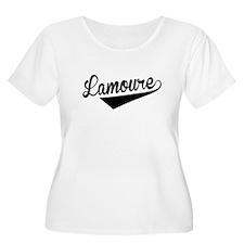 Lamoure, Retro, Plus Size T-Shirt