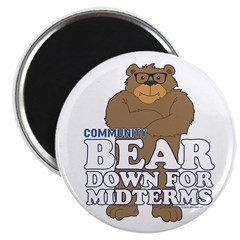 Bear Down Midterms Magnet