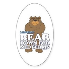 Bear Down Midterms Decal