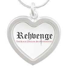 Rehvenge Silver Heart Necklace Necklaces