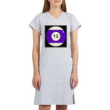 Twelve Ball Women's Nightshirt
