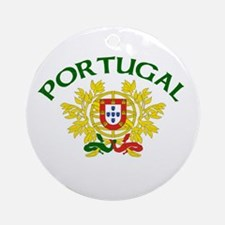 Portugal Coat of Arms Ornament (Round)
