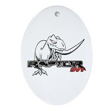 Ford Raptor SVT Ornament (Oval)
