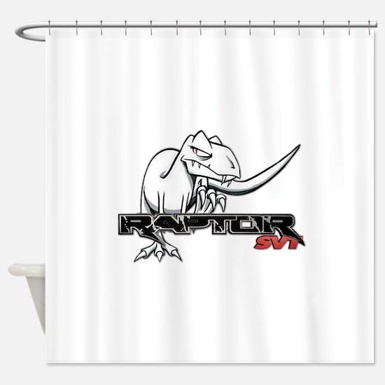 Ford Raptor SVT Shower Curtain