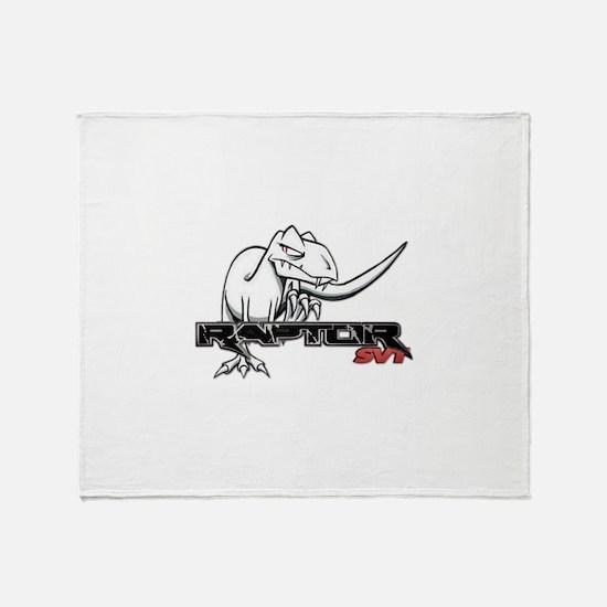Ford Raptor SVT Throw Blanket