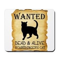 Schrodingers Cat Dead And Alive Mousepad