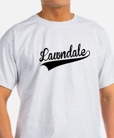 Lawndale, Retro, T-Shirt