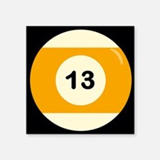 Thirteen Ball Sticker