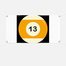 Thirteen Ball Banner