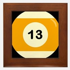 Thirteen Ball Framed Tile