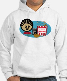 Fried Chicken and Beans Hoodie