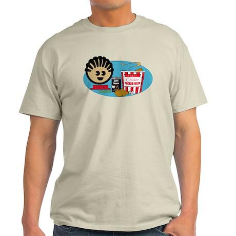 Fried Chicken and Beans Light T-Shirt
