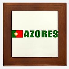 Azores, Portugal Framed Tile