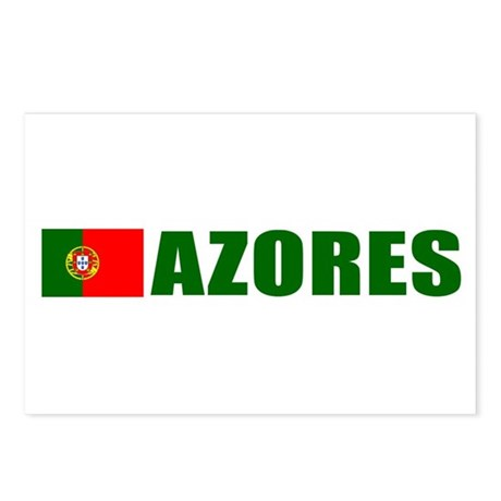 Azores, Portugal Postcards (Package of 8)