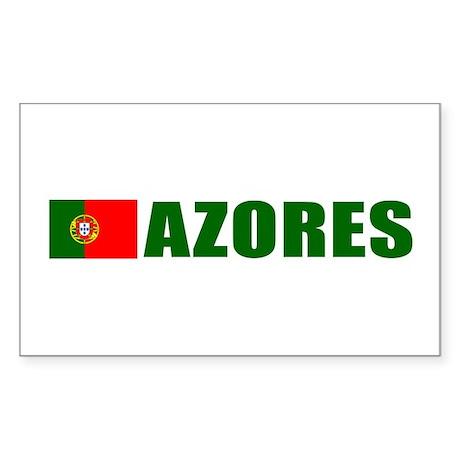 Azores, Portugal Rectangle Sticker