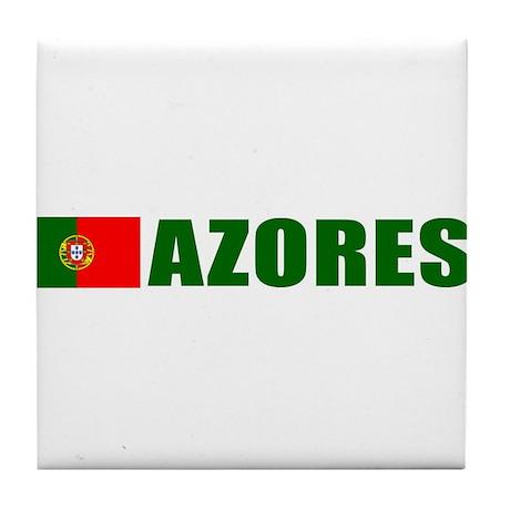 Azores, Portugal Tile Coaster