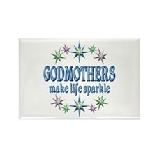 Godmothers Sparkle Rectangle Magnet
