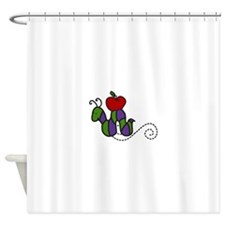 Worm Shower Curtain