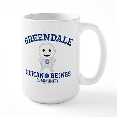 Greendale Human Beings Large Mug