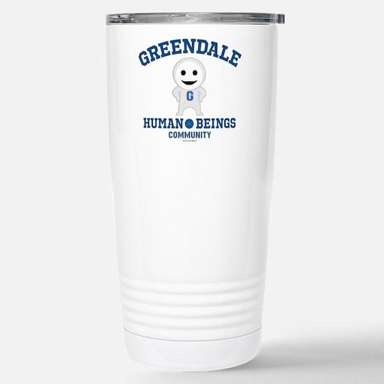 Greendale Human Beings Stainless Steel Travel Mug