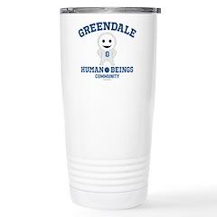 Greendale Human Beings Travel Mug