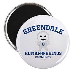 Greendale Human Beings Magnet